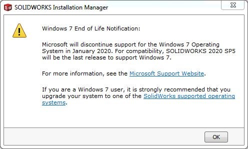 End of Life…for Windows 7