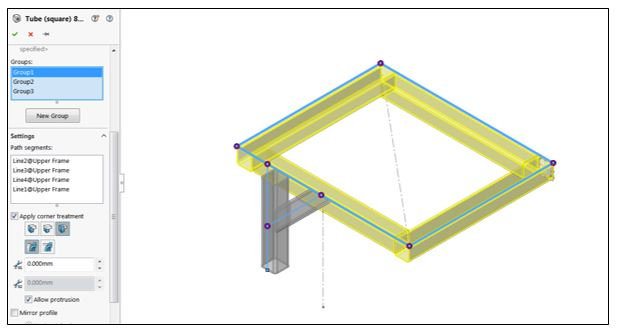 10 Step SOLIDWORKS Weldments