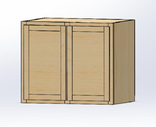 SOLIDWORKS Part Reviewer: Wall Cabinet Tutorial