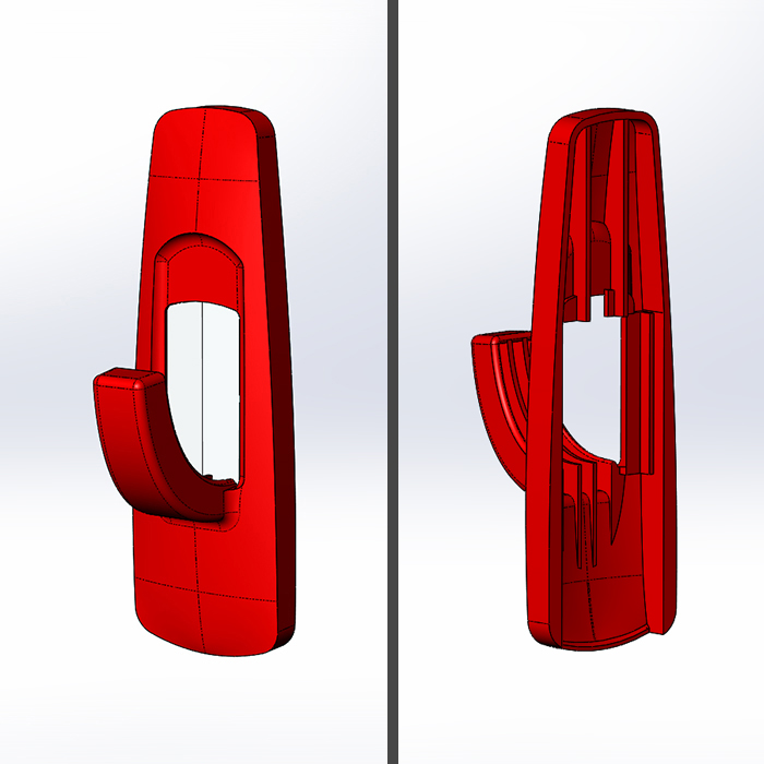 SOLIDWORKS Part Reviewer: Wall Hook Assembly Tutorial