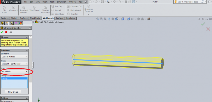 How to Create Custom Weldment Profiles in SOLIDWORKS