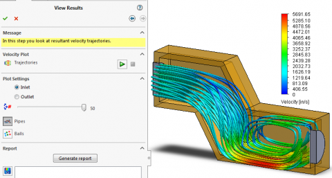 SOLIDWORKS Xpress tools, FloXpress