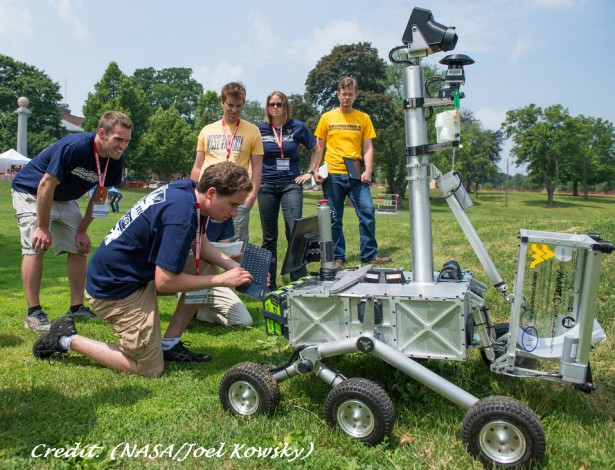 NASA Robot Challenge WVU Engineers SOLIDWORKS Teacher Blog 3