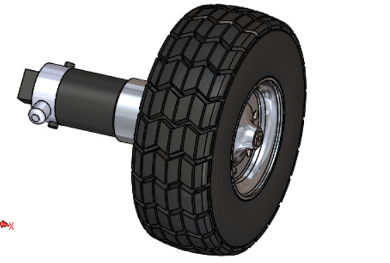 West Virginia University NASA Robot Wheel